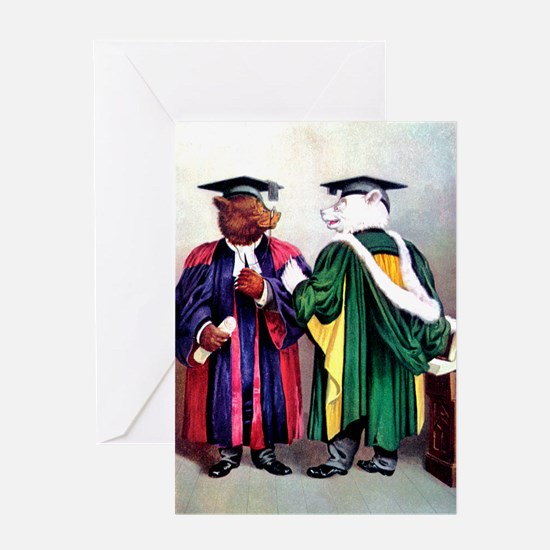 Roosevelt Bears Graduate Greeting Card