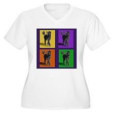 Poodle Pop Art T-Shirt