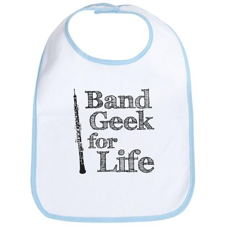 Oboe Band Geek Bib