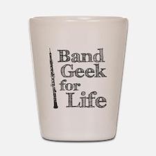Oboe Band Geek Shot Glass