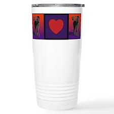 Poodle Love Travel Mug