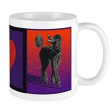 Poodle Love Small Mug
