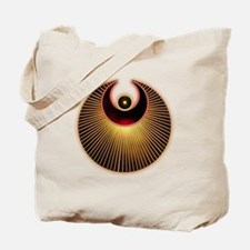Angel Crop Circle Tote Bag