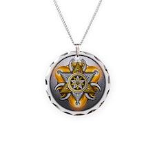 Pagan God & Goddess Necklace Circle Charm