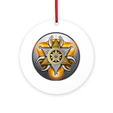 Pagan God & Goddess Ornament (Round)
