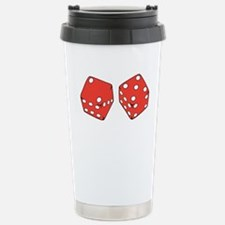 Lucky Seven Dice Stainless Steel Travel Mug
