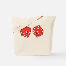 Lucky Seven Dice Tote Bag