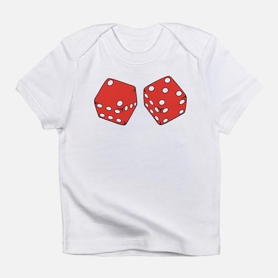 Lucky Seven Dice Infant T-Shirt