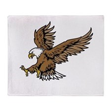 American Bald Eagle Throw Blanket
