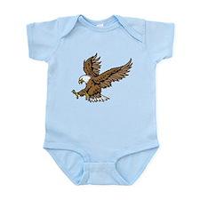 American Bald Eagle Infant Bodysuit