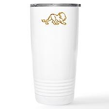 Fire Lion Travel Mug