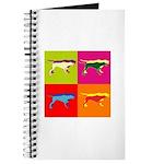 Pointer Silhouette Pop Art Journal