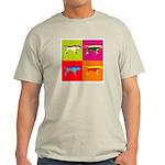 Pointer Silhouette Pop Art Light T-Shirt