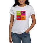 Pointer Silhouette Pop Art Women's T-Shirt
