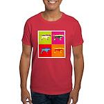 Pointer Silhouette Pop Art Dark T-Shirt