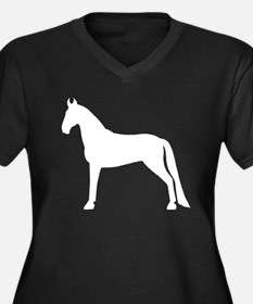 Tennessee Walking Horse Women's Plus Size V-Neck D