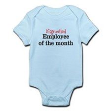 Disgruntled Employee Infant Bodysuit