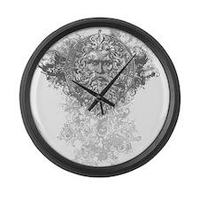 Greek Mythological Large Wall Clock