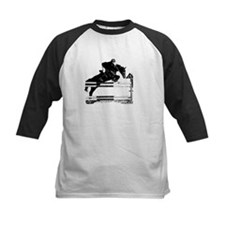 Show Jumper on a dark horse Tee