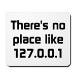 No Place Like 127.0.0.1 Mousepad