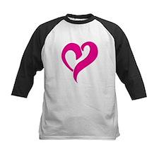 Pink Graffiti Heart Tee