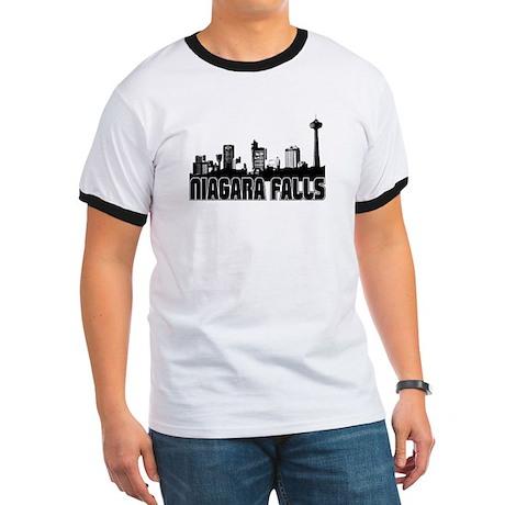 Niagara Falls Skyline Ringer T