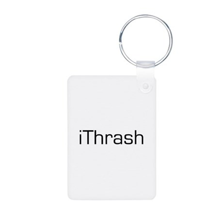 iThrash Aluminum Photo Keychain