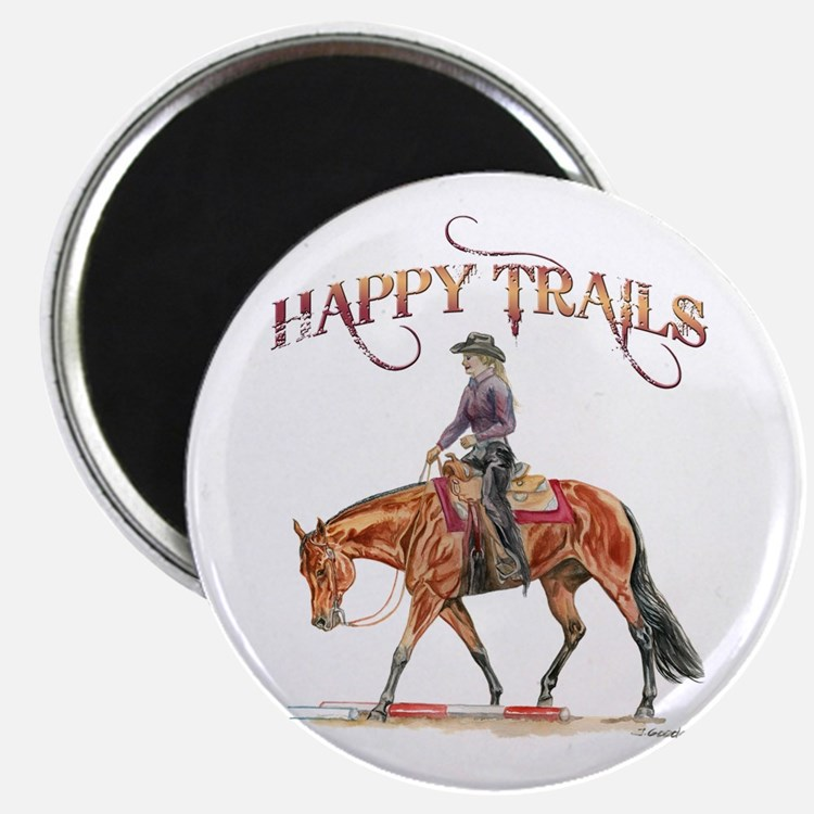 Happy Trails Magnet