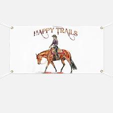 Happy Trails Banner