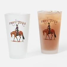 Happy Trails Drinking Glass