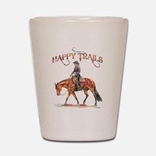 Happy Trails Shot Glass
