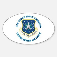 Air Force Space Cmd with Text Decal