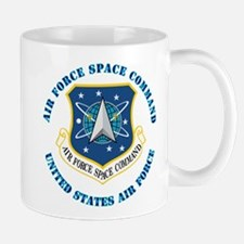 Air Force Space Cmd with Text Mug