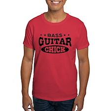 Bass Guitar Chick T-Shirt