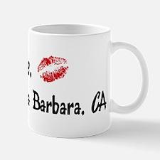 Kiss Me: Santa Barbara Mug