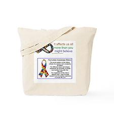 """""""Autism Awareness"""" Tote Bag"""