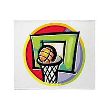 Basketball125 Throw Blanket