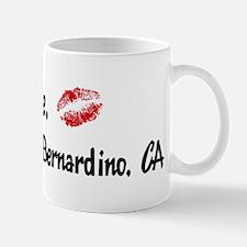 Kiss Me: San Bernardino Mug