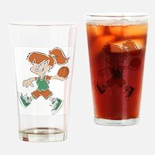 Basketball118 Drinking Glass