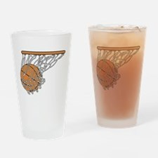 Basketball117 Drinking Glass