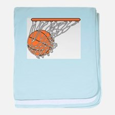Basketball117 baby blanket