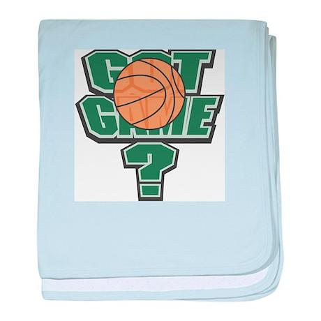 Got Game? baby blanket