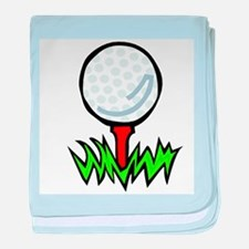 Golf41 baby blanket