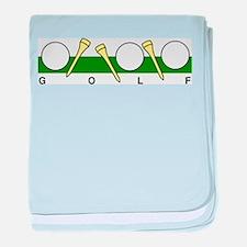 Golf40 baby blanket