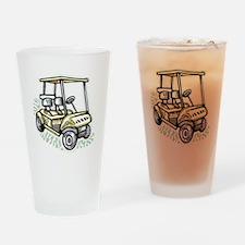Golf34 Drinking Glass