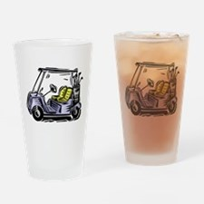 Golf34 Drinking Glass