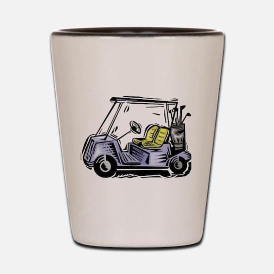 Golf34 Shot Glass