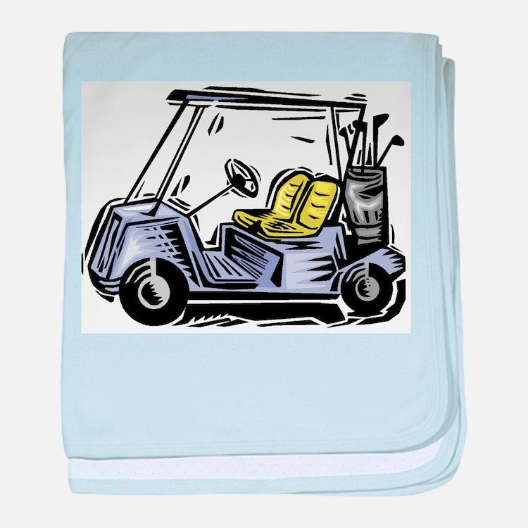 Golf34 baby blanket