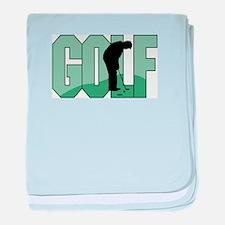 Golf16 baby blanket