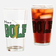 Golf12 Drinking Glass